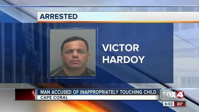 Karate instructor accused of molesting minor