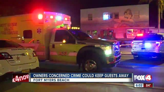 Surveillance video captures stabbing on Fort Myers Beach