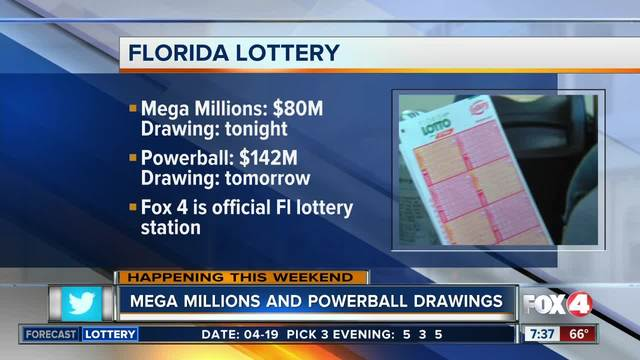 Mega Millions and Powerball drawings