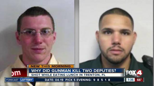 Deputies shot through restaurant window- sheriff blames hate