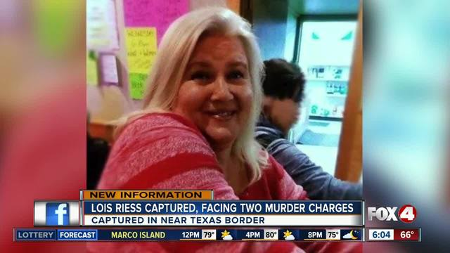 Fugitive Lois Riess arrested in Texas