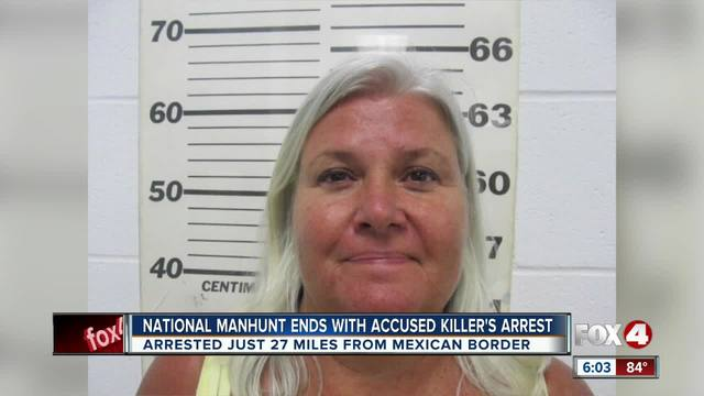 Details emerging in arrest of Lois Riess in Texas