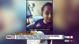 Kidney donor steps up to save local firefighter