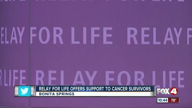 Survivors Shine at Relay for Life