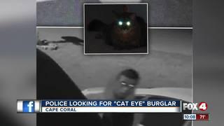 Cape Police look for burglar caught on camera