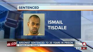 Man gets 20 years in prison for jail fire