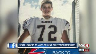 Mom fights for heat safety regulations in sports