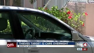 Car burglars target Bonita Springs neighborhood