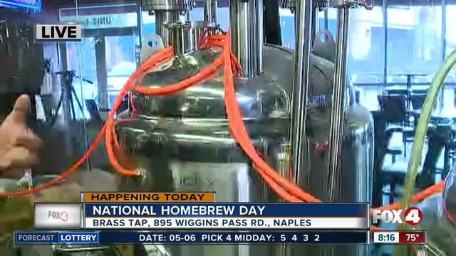Celebrate National Homebrew Day