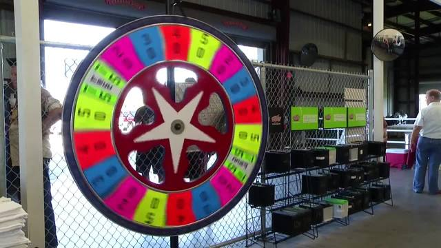 Garden Street U Pull It Come Spin The Giant Prize Wheel Fox 4 Now Wftx Fort Myers Cape Coral