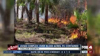 Avian Complex Fire is over 82,000 acres