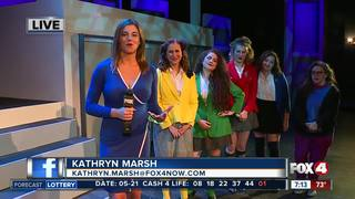 Young artists rehearse for Heathers the Musical