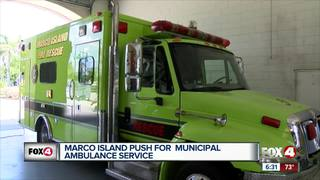 County delays decision to certify Marco EMS