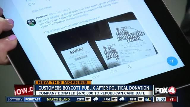 People boycott Publix after political donations