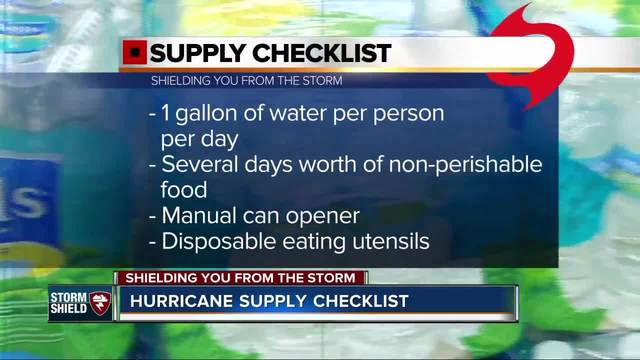 Shielding You From the Storm- Hurricane Supply Checklist