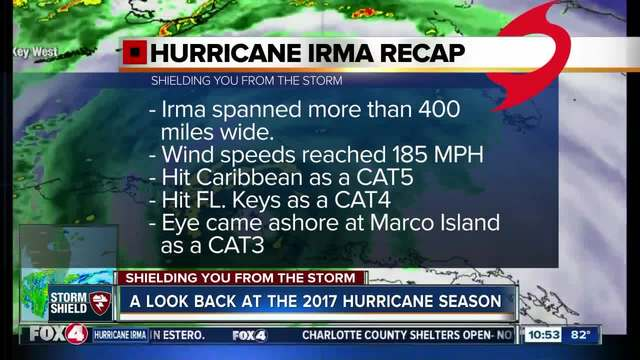 A look back at the 2017 hurricane season