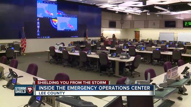 Shielding You From the Storm- The role of EOC-s in a hurricane