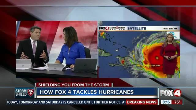 How Fox 4 tackles hurricanes