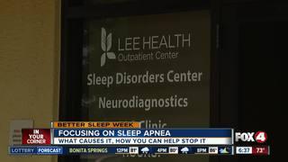 Snoring could be symptom of sleep apnea