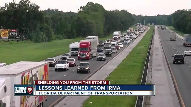 FDOT- Interstate lanes will not be reversed in storm evacuations