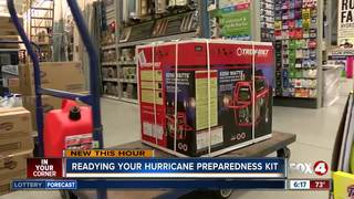 Readying your Hurricane Preparedness Kit