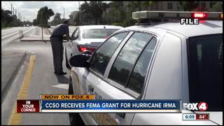 CCSO receives FEMA grant for Hurricane Irma