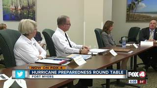 Commissioner discusses hurricane preparedness