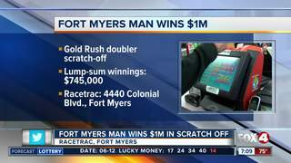 Fort Myers man wins $1M on lottery scratch-off