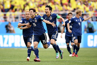 Japan tops Colombia 2-1 in latest surprise