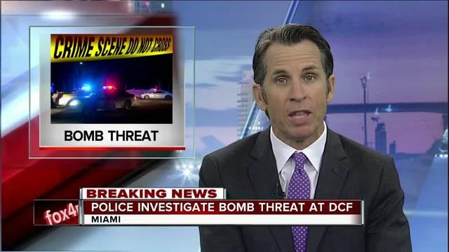 Bomb threat under investigation