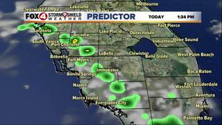 FORECAST: Hot & steamy, slim rain chances