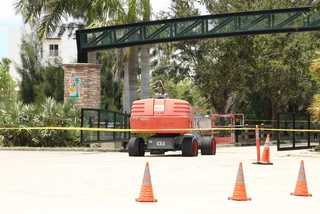 Photos: Worker death at Lakes Regional Park