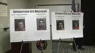 Operation Ice Breaker nets several meth arrests