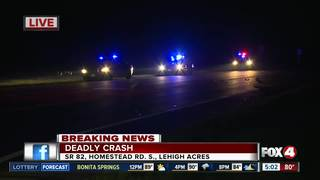 Deadly crash on State Road 82 in Lehigh Acres