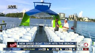 New speed boat tour hits Fort Myers Beach