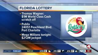 Port Charlotte man wins $1M in Florida Lottery