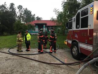 Fire damages home in North Collier