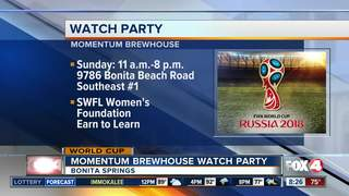 World Cup final watch party to benefit community