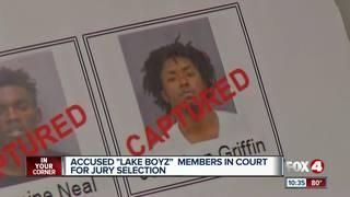 Jury selection begins in Lake Boyz trial