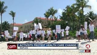 HIV/AIDS activists protest healthcare change