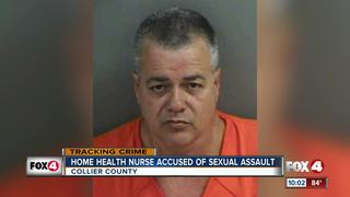 Home health nurse charged with sexual assault