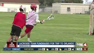 Lacrosse team raises money for trip to Orlando