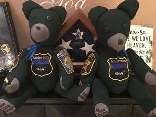 Blue Line Bears comfort children who lost parent