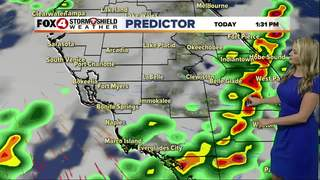 FORECAST: Wet weather to start the work week