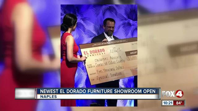 El Dorado Credit Card >> El Dorado Furniture Opens New Showroom In Naples