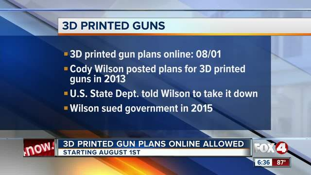 Americans can legally download 3 d printed guns starting next month americans can legally download 3 d printed guns starting next month malvernweather Choice Image