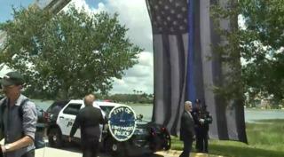 Officer Adam Jobbers-Miller funeral procession