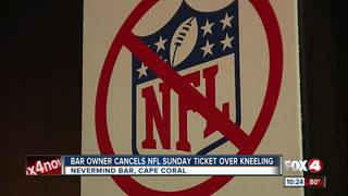 'Nevermind' bar in Cape Coral won't show NFL