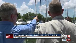 Federal officials visit SWFL to see algae crisis