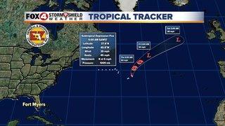 Subtropical Depression 5 forms in the Atlantic
